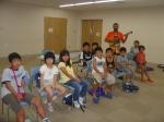 Ángel con escolares de Hino